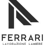 Logo Ferrari lavorazione lamiere Verona. Carpenteria leggera Verona. Carpenteria metallica Verona